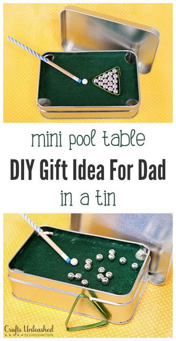 7 DIY Mini Pool Table