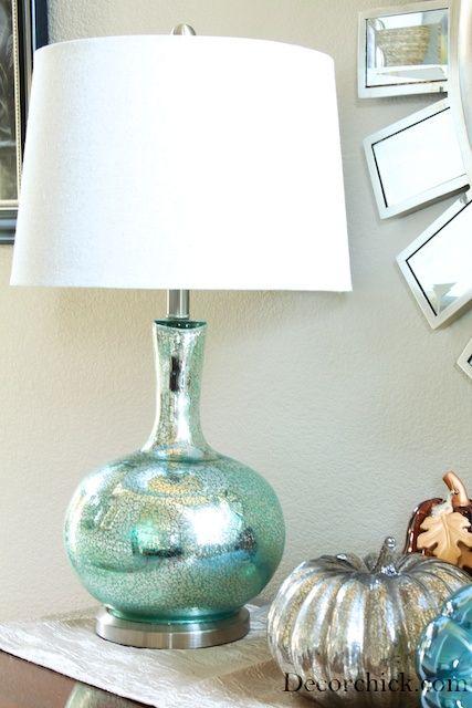 8 DIY Mercury Glass Lamp