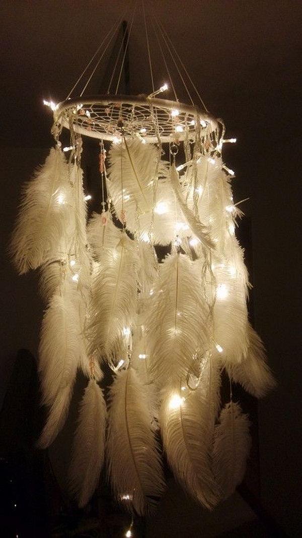 9 Amazing Dream Catcher Lamp