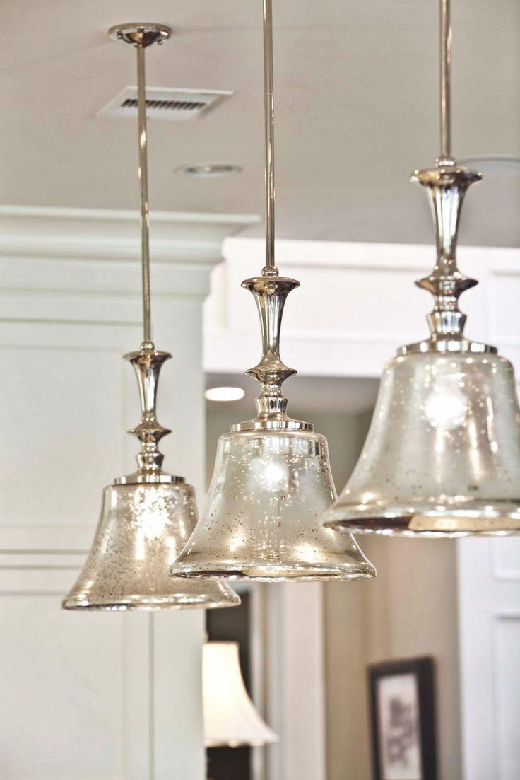 9  Mercury Glass Pendants