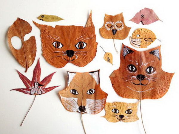 1 Leaf Animal Crafts