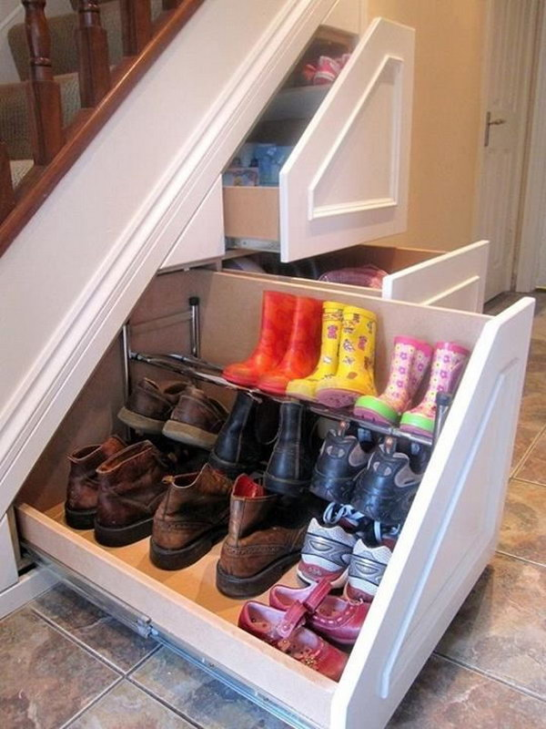 1 Under Stair Pull-out Drawers