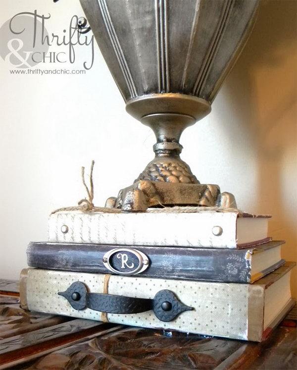 1 Vintage Embellished Books
