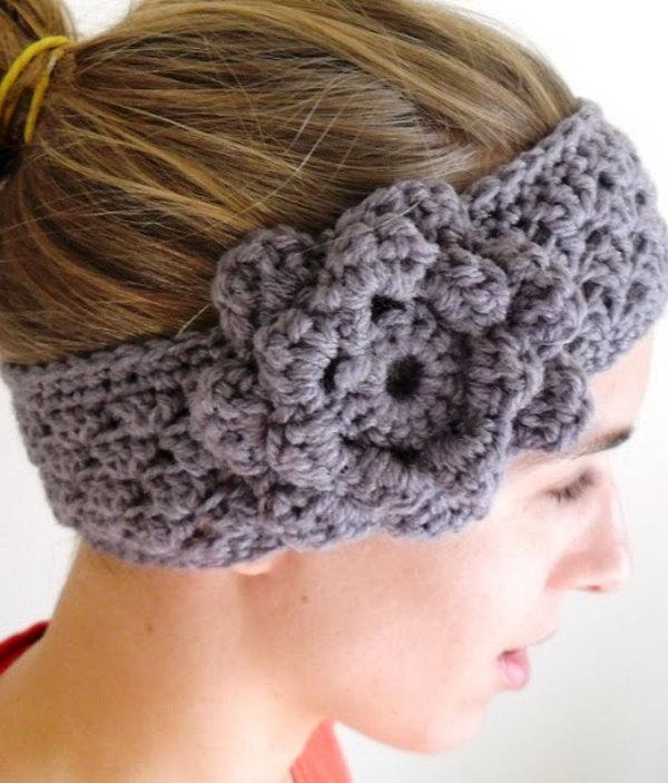 10 Crochet Ear-warmer
