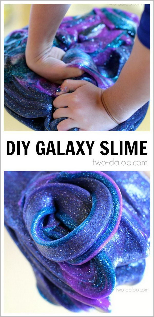 10 DIY Galaxy Slime