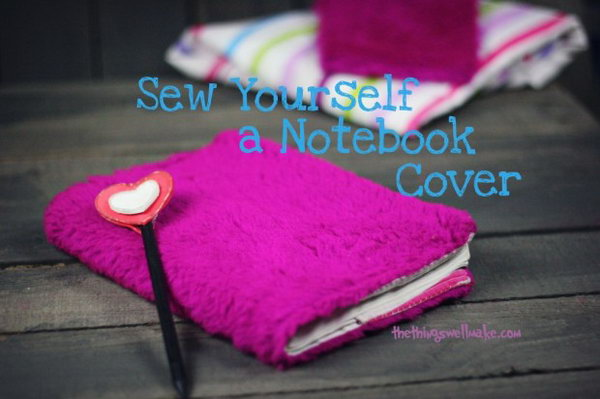 10 Sewing Notebook Cover