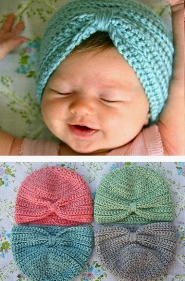 11 Crochet Baby Turban