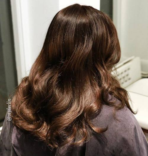 11 long wavy hairstyle for brown hair