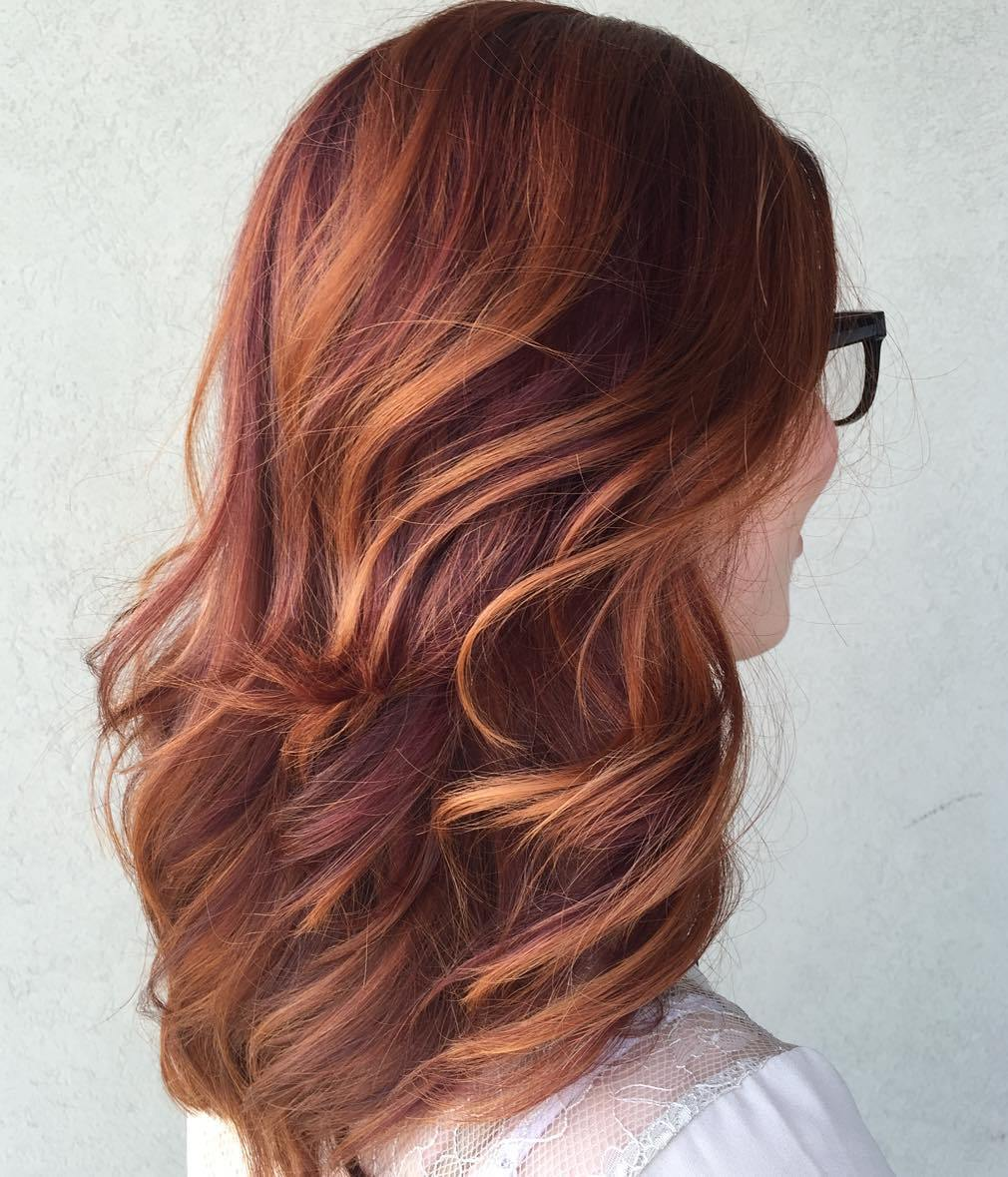 40 Fresh Trendy Ideas For Copper Hair Color Page 12 Foliver Blog