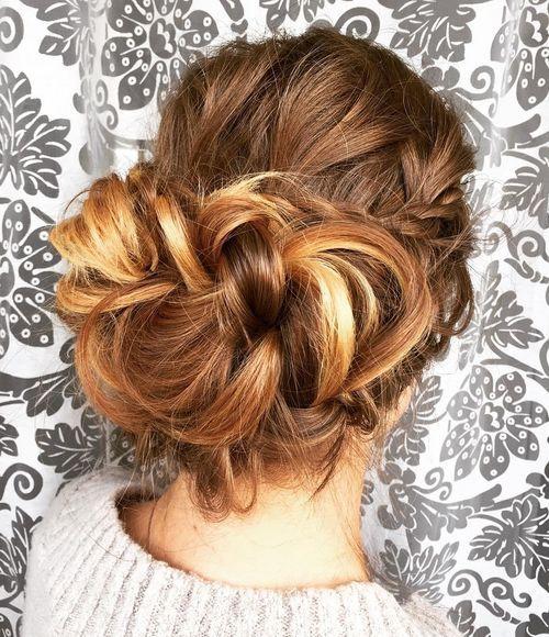 13 elegant braided updo for long hair