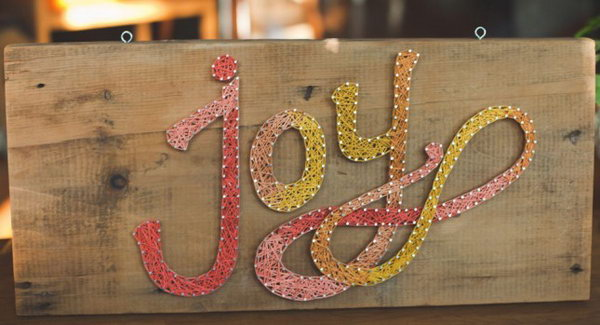 15 DIY Joy String Art