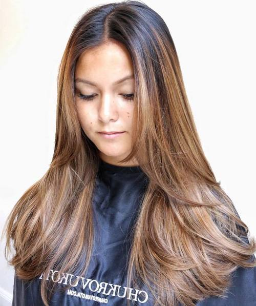 15 light brown balayage hair