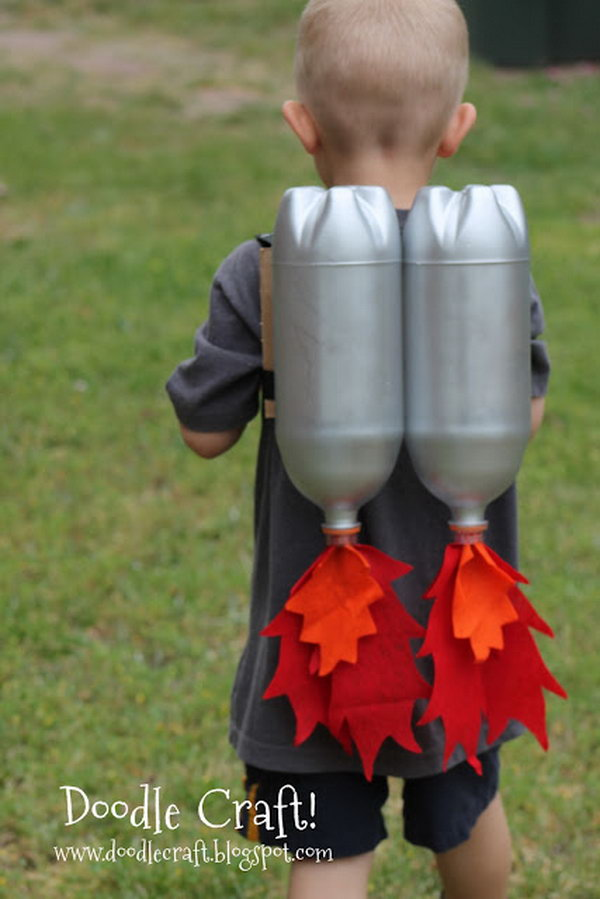 16 DIY Jet Pack with Soda Bottles