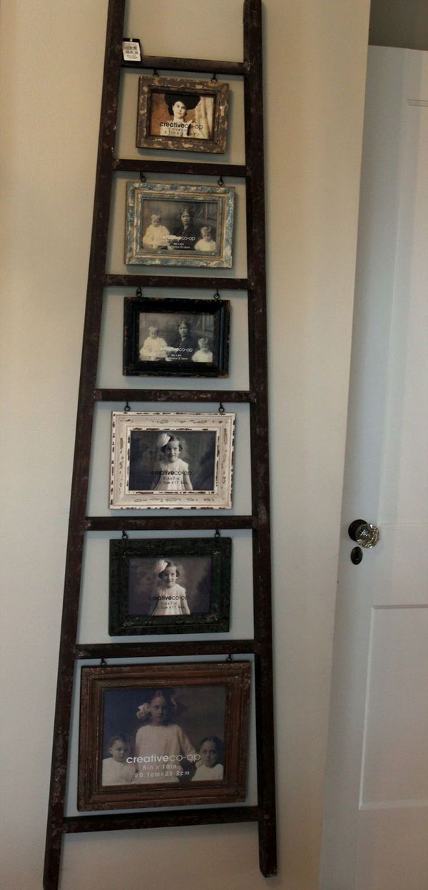 16 Ladder Picture Display