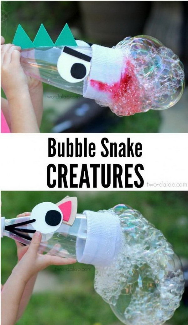 17 DIY Bubble Snakes Maker