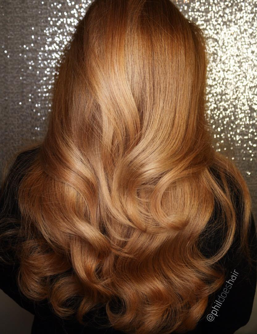 17 long golden blonde hairstyle