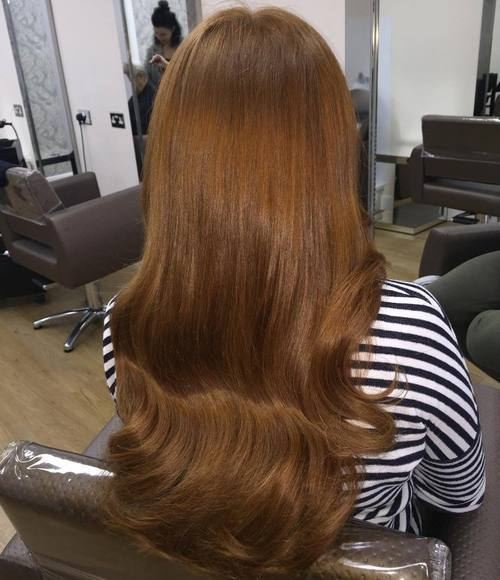 17 long light brown hairstyle