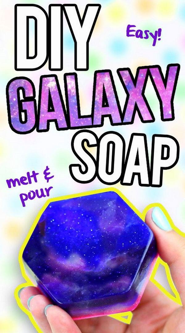 18 DIY Galaxy Soap
