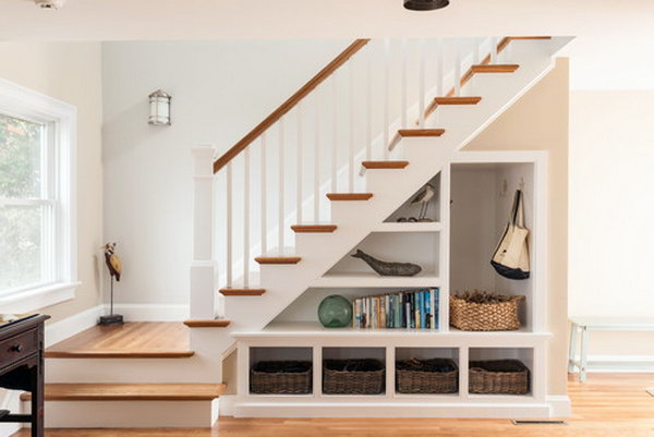 19 Under Stairs School Staging Space