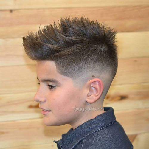 19 choppy fauxhawk fade for teens