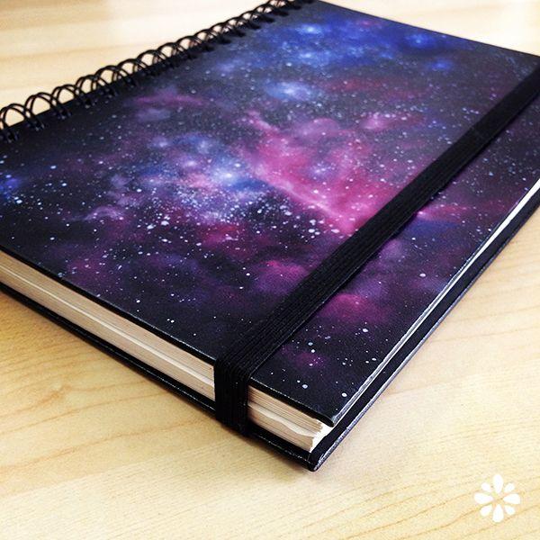 2 DIY Galaxy Print Book