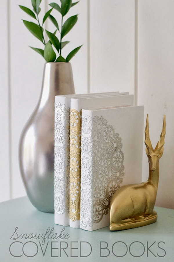 2 DIY Snowflake Books