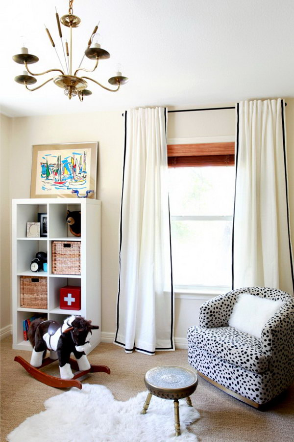 2 IKEA Hack for Ribbon Curtains