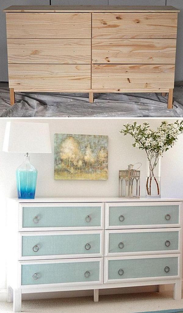 2 Textured Panel Dresser