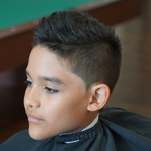 2 short spiky haircut for teenage boys