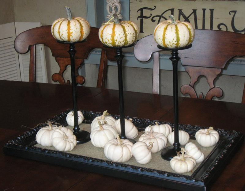 20 Tiny Pumpkin Stand