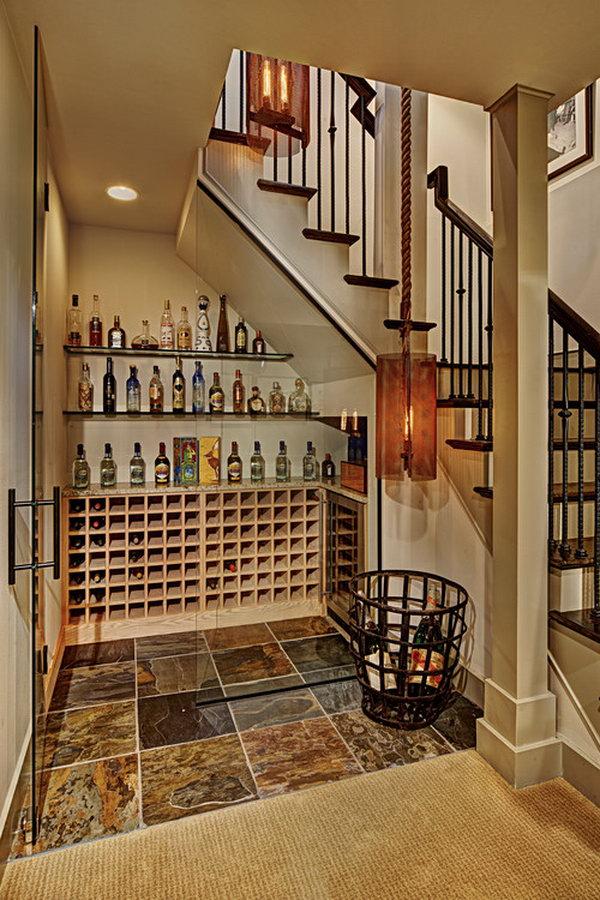 20 Under Stairs Wine Cellar
