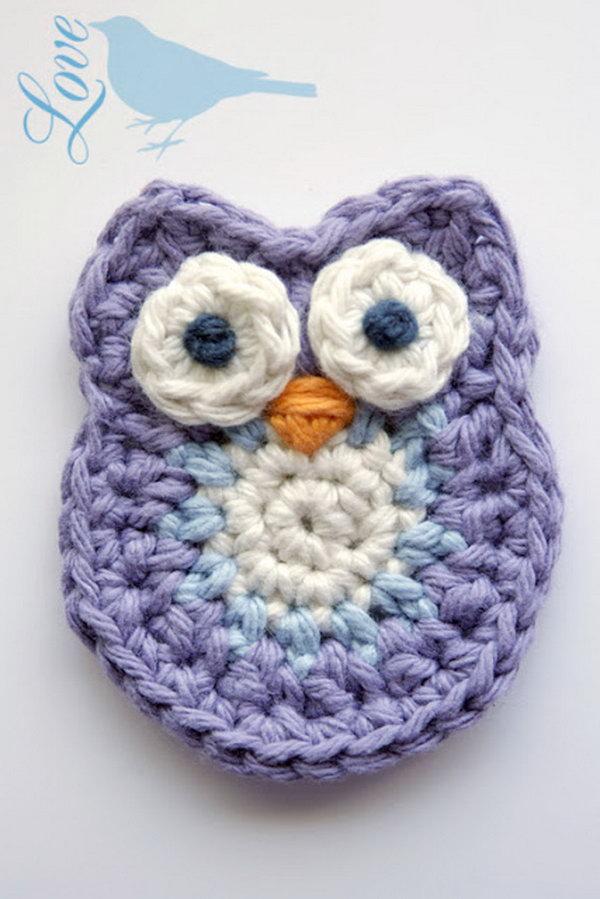 21  Cute Crochet Little Owl