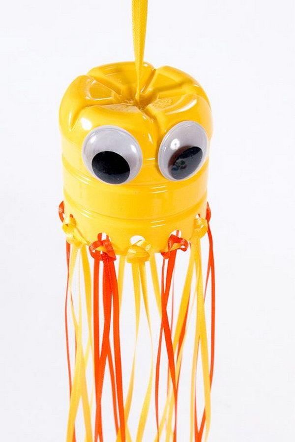21 DIY Hanging Jellyfish