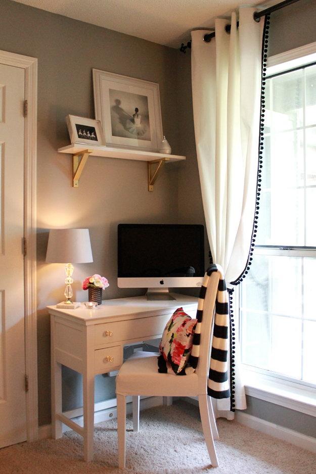 21 DIY IKEA Hacked Pom-Pom Trimmed Curtains