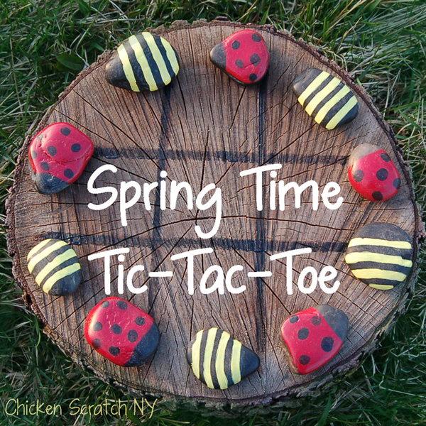 21 Outdoor Tic-tac-toe Activity