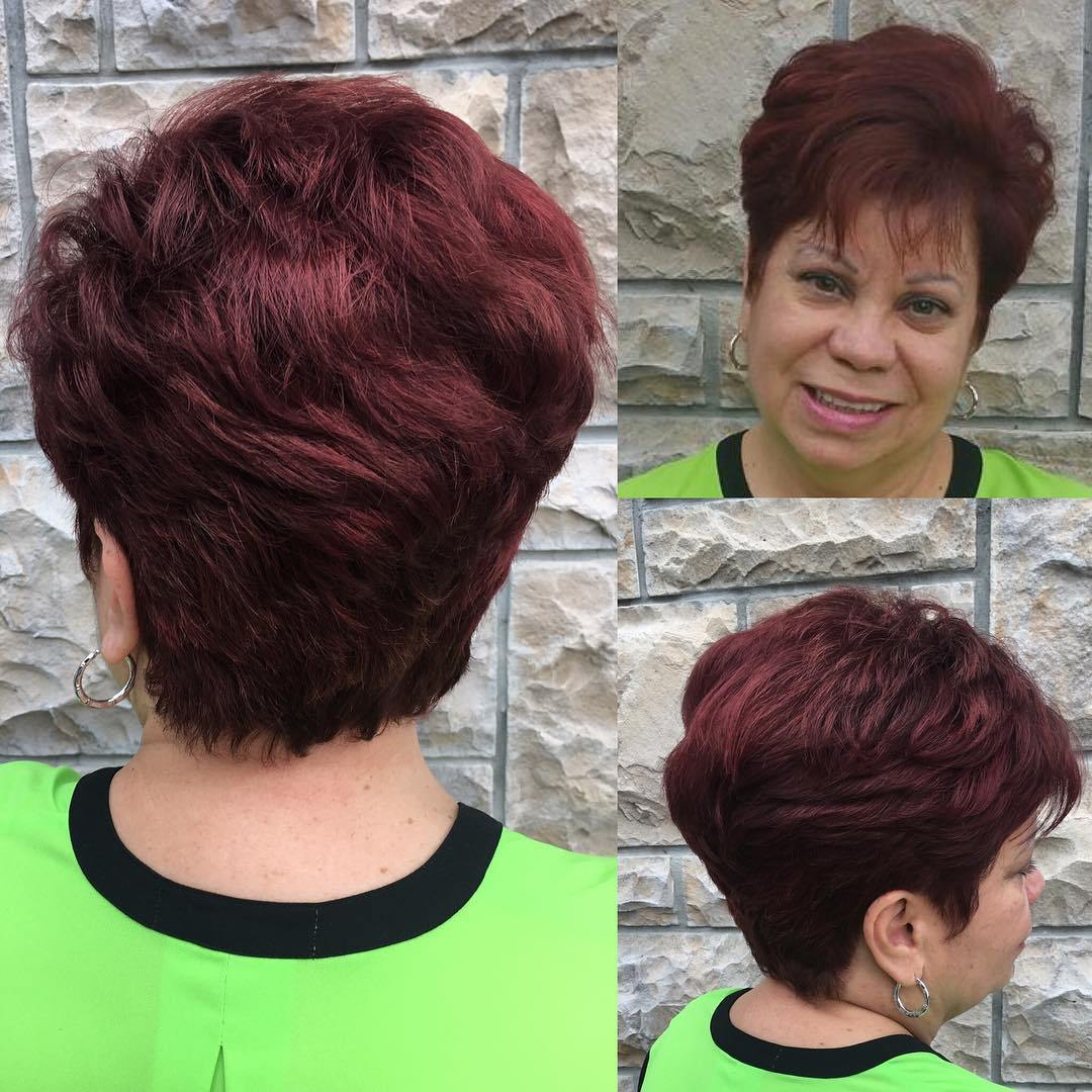 80 Classy and Simple Short Hairstyles for Women over 50 – Page 21 ...