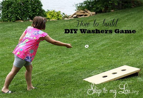 22 DIY Washers Game