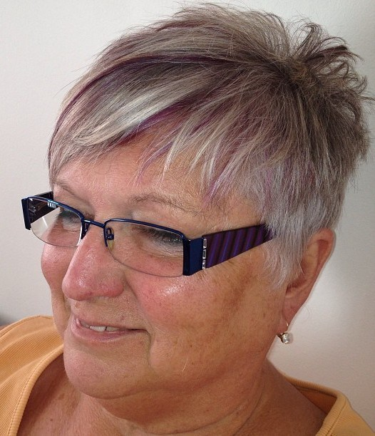 80 Classy and Simple Short Hairstyles for Women over 50 – Page 22 ...
