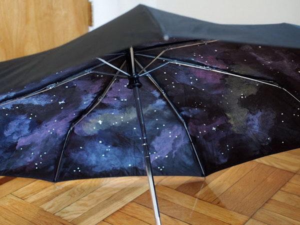 24 DIY Galaxy Umbrella