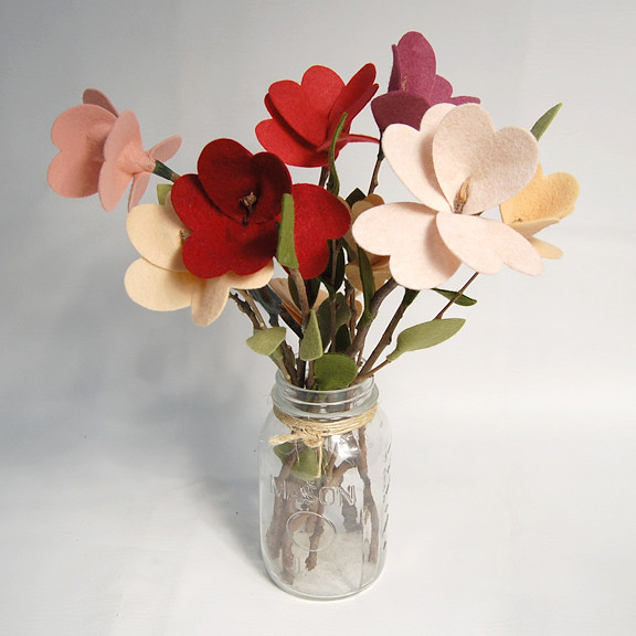 24 Twig Stemmed Flowers