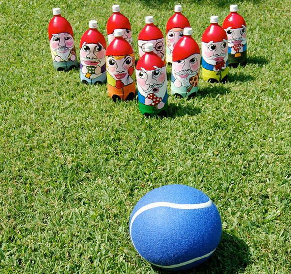 26 Gnome Bowling Game