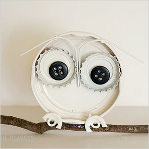 26 Recycled into an Owl