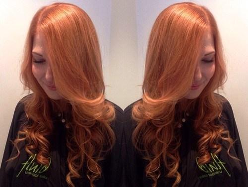 26 light copper hair