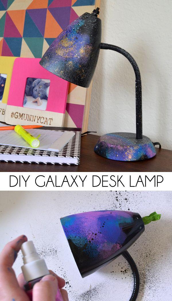 29 DIY Galaxy Desk Lamp