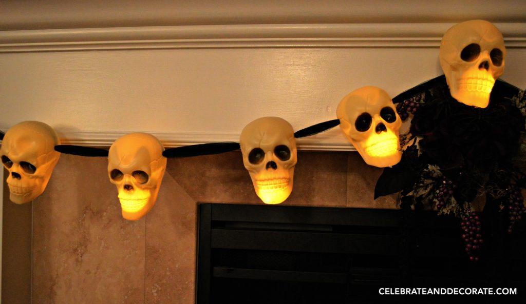29 Halloween Skull Garland