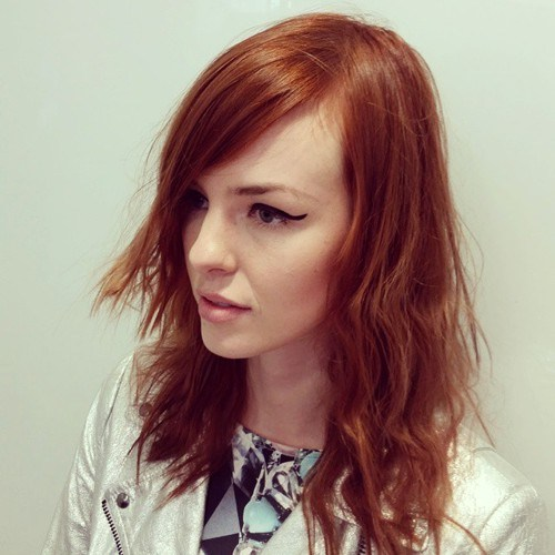 29 messy copper hairstyle