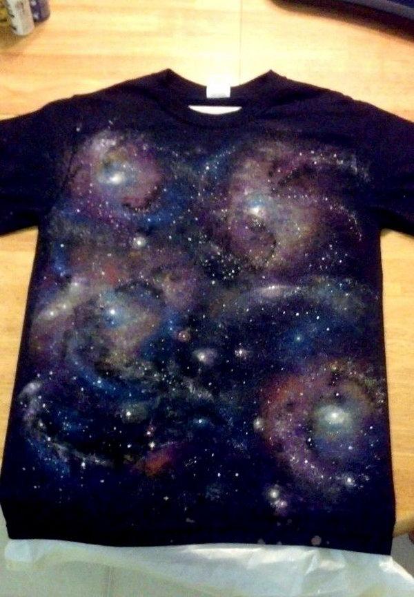 3 DIY Galaxy T-shirt