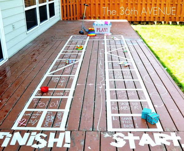 30 easy fun outdoor games you can do it yourself page 3 3 diy outdoor board games solutioingenieria Choice Image
