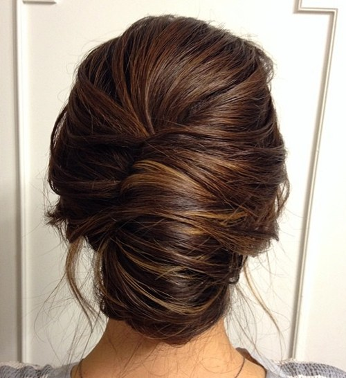 3 french roll for thick hair