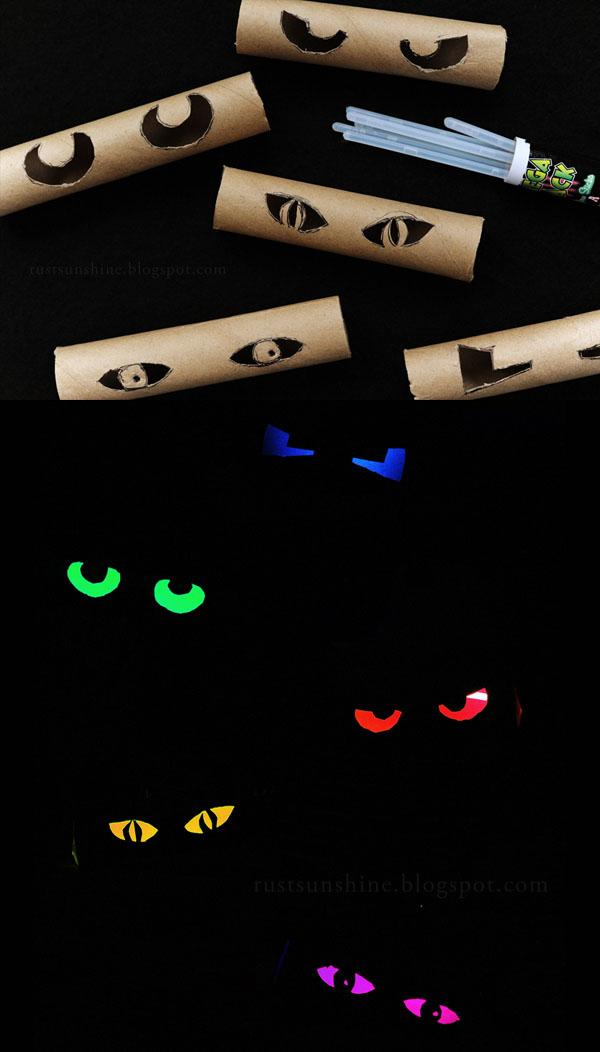 33 Glowing Spooky Eyes